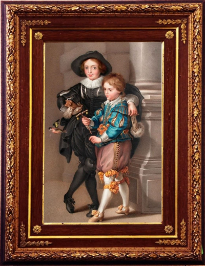 Портрет сыновей художника