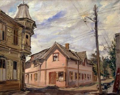 Картина «Улица Города»
