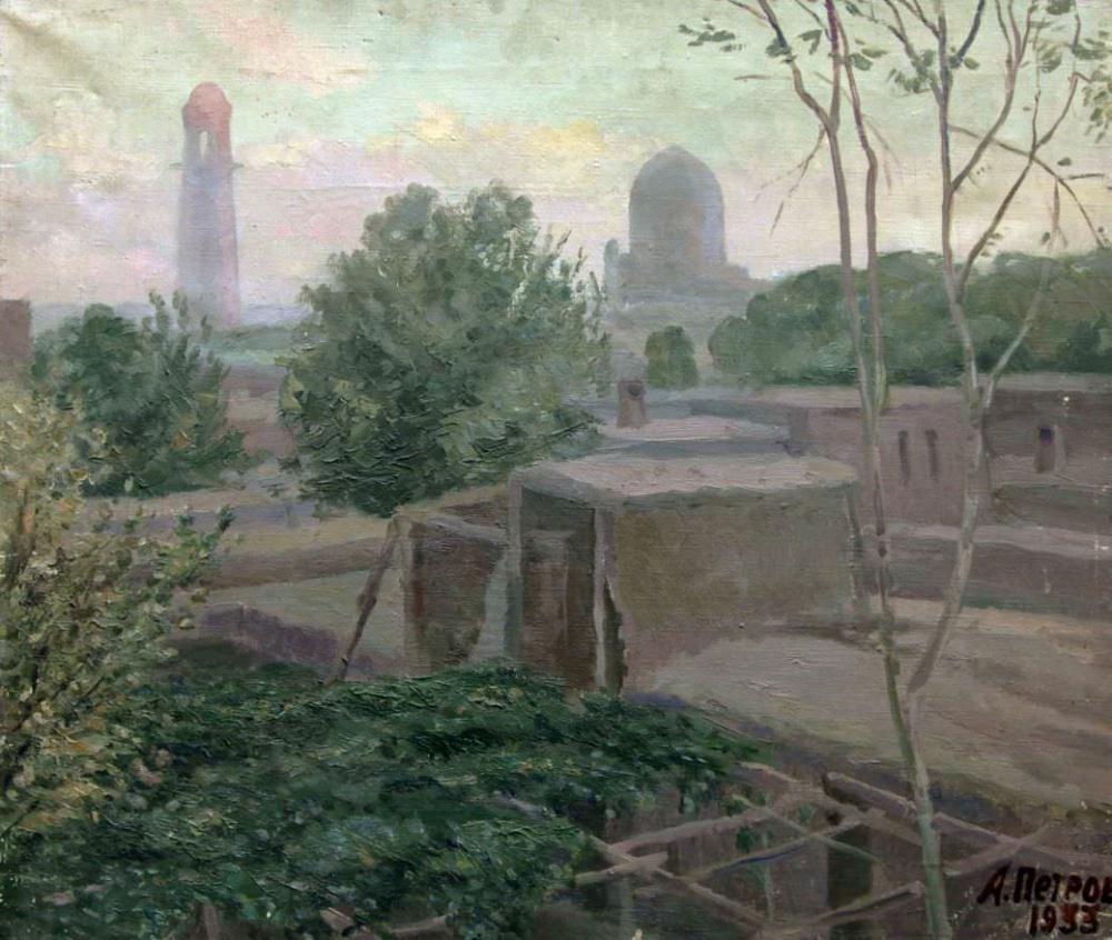 Картина «Восточный город. Вечер»