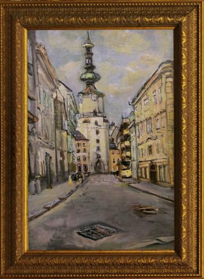 №9 Картина «Улица Львова»