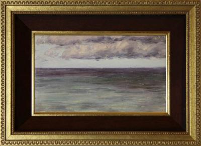 Старинный этюд «Пасмурное небо» 1904 года