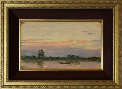 Старинный этюд «На Дунае» 1893 года