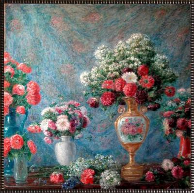 """Цветы в вазах"""""""