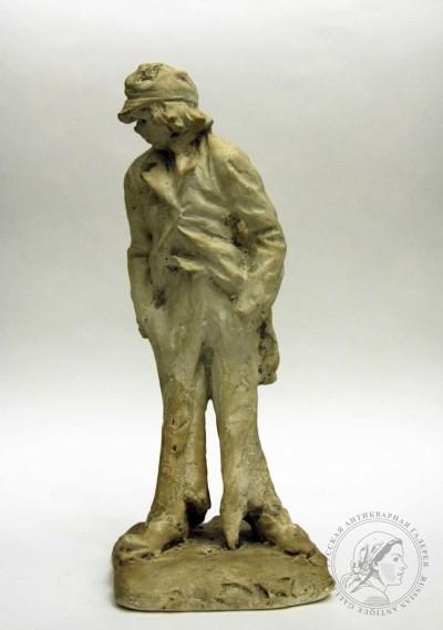 Скульптура гипсовая «Рижский хулиган»