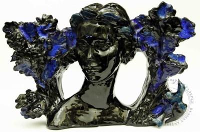 Скульптурная композиция «Девушка»