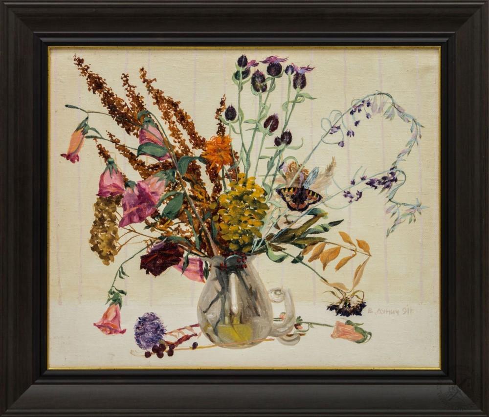 Картина «Полевые цветы в вазе»