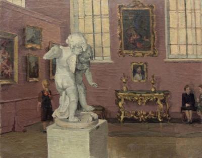 Картина «В музее»