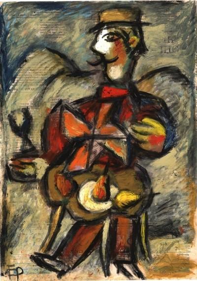 Картина из серии «Дымковская игрушка»