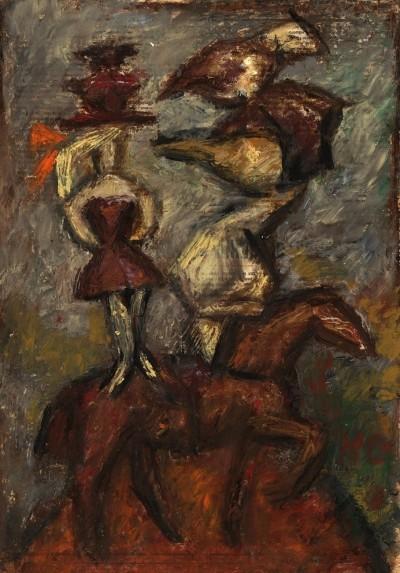 Картина «Красный конь»