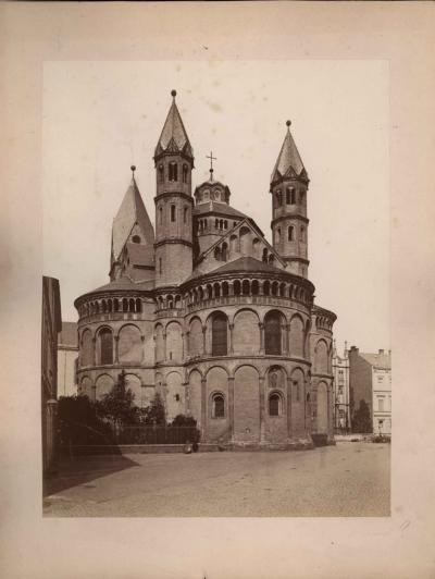 № 23 Старинная фотография «Романская Церковь»