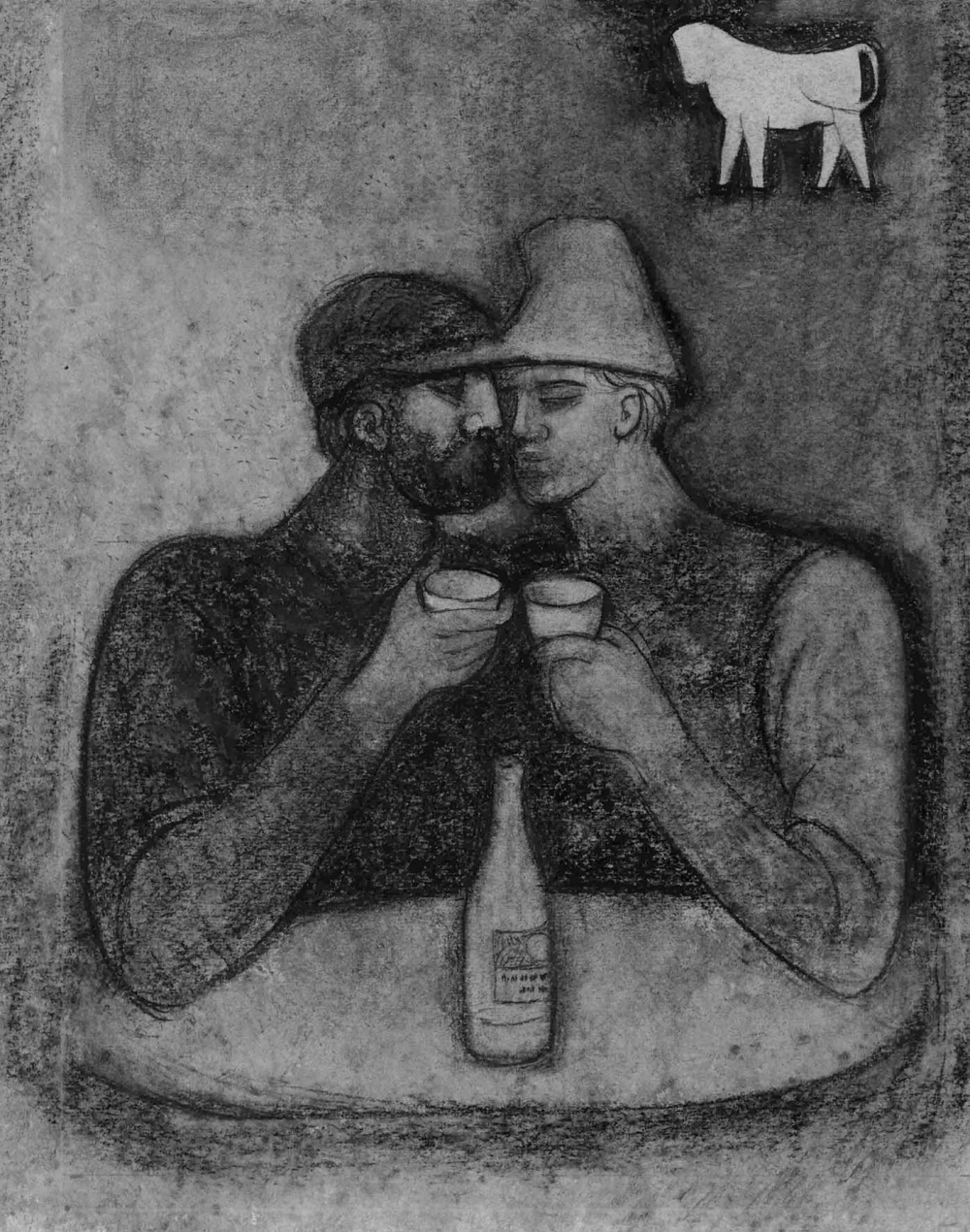 №14 Рисунок «Двое»