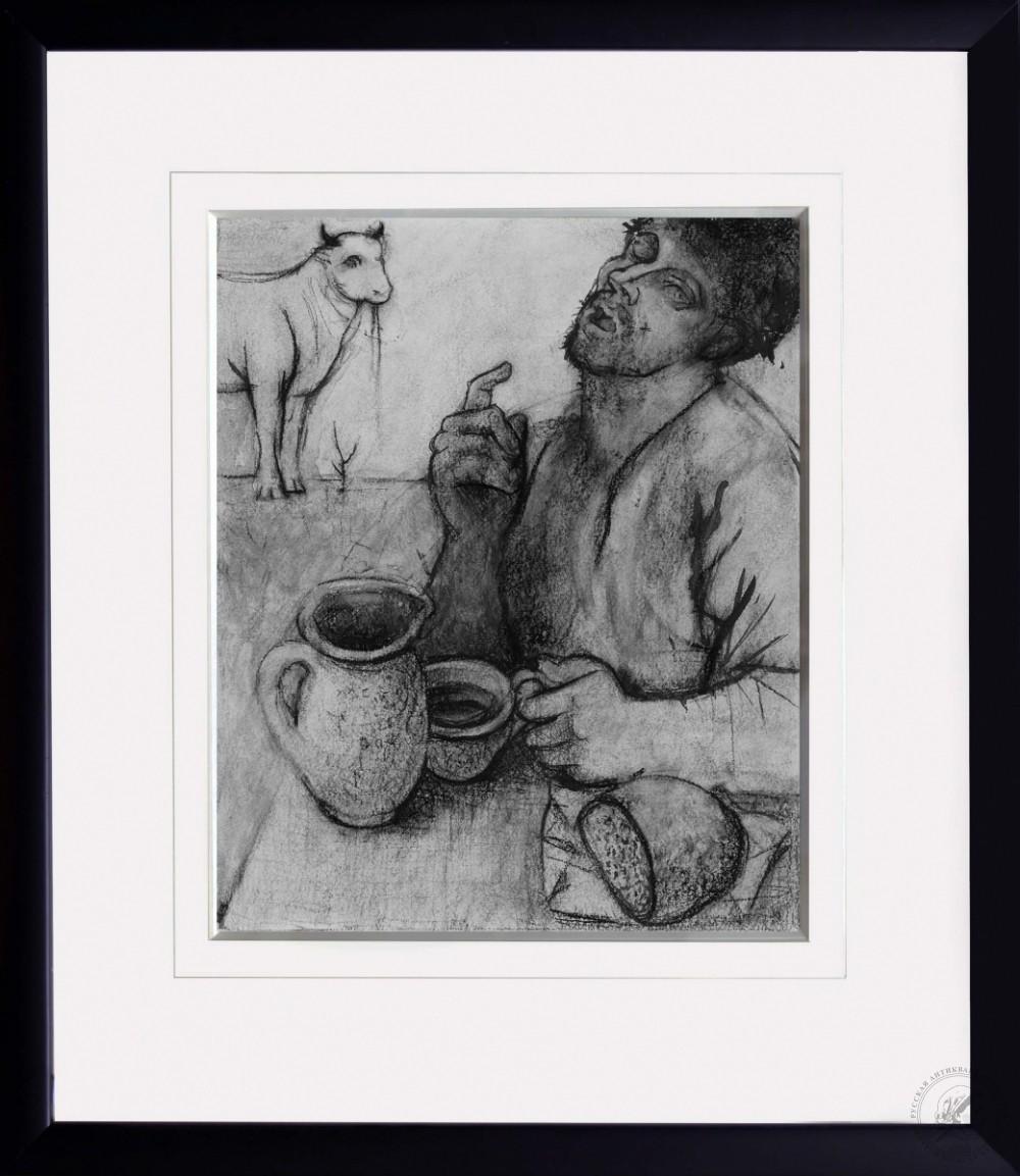 Рисунок «За обедом»