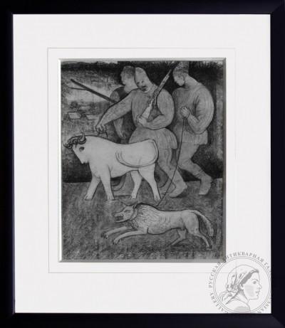 Рисунок «На охоту»
