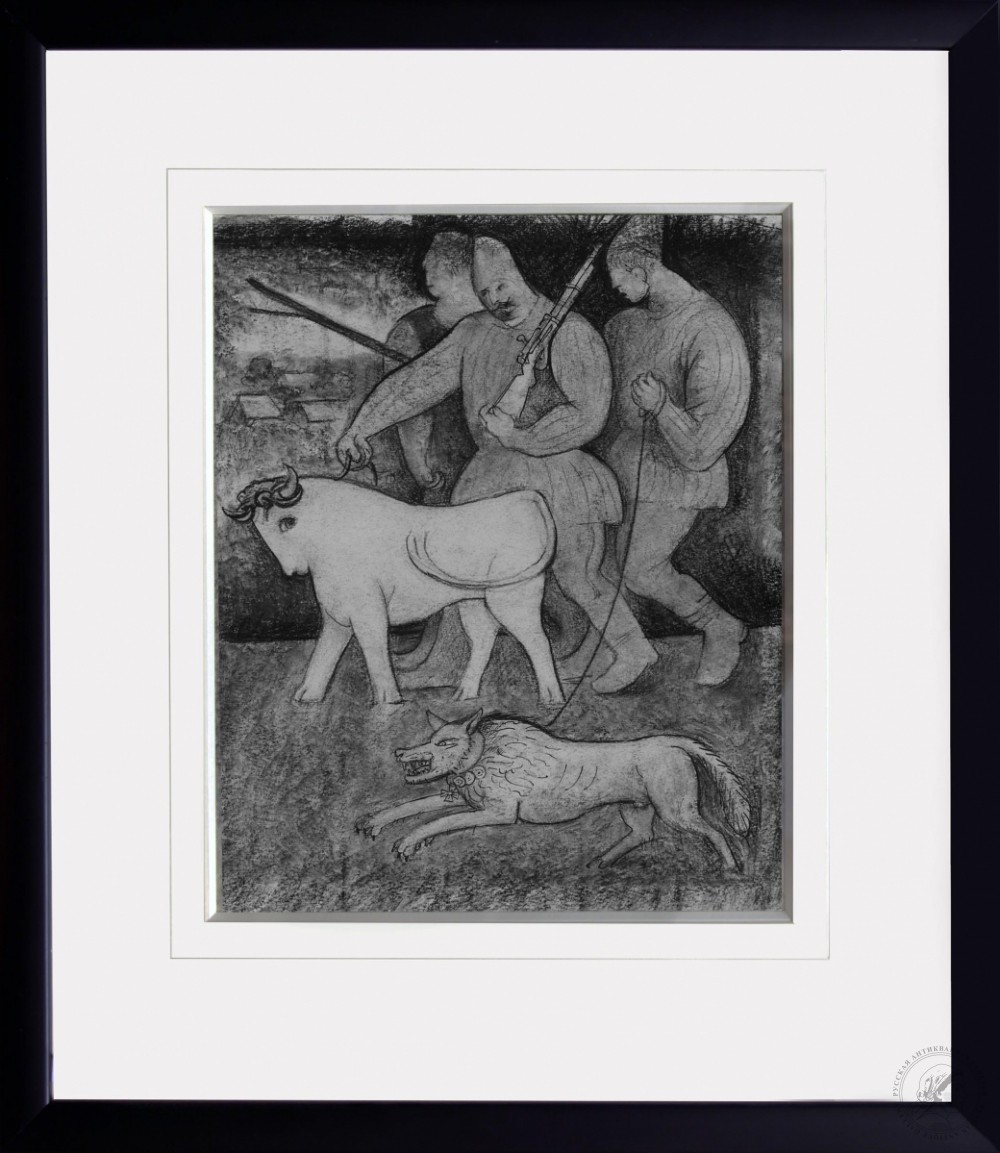 №8 Картина «На охоту»