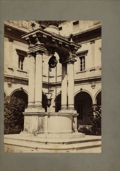 №38 Старинная фотография «Италия. Архитектурные виды»