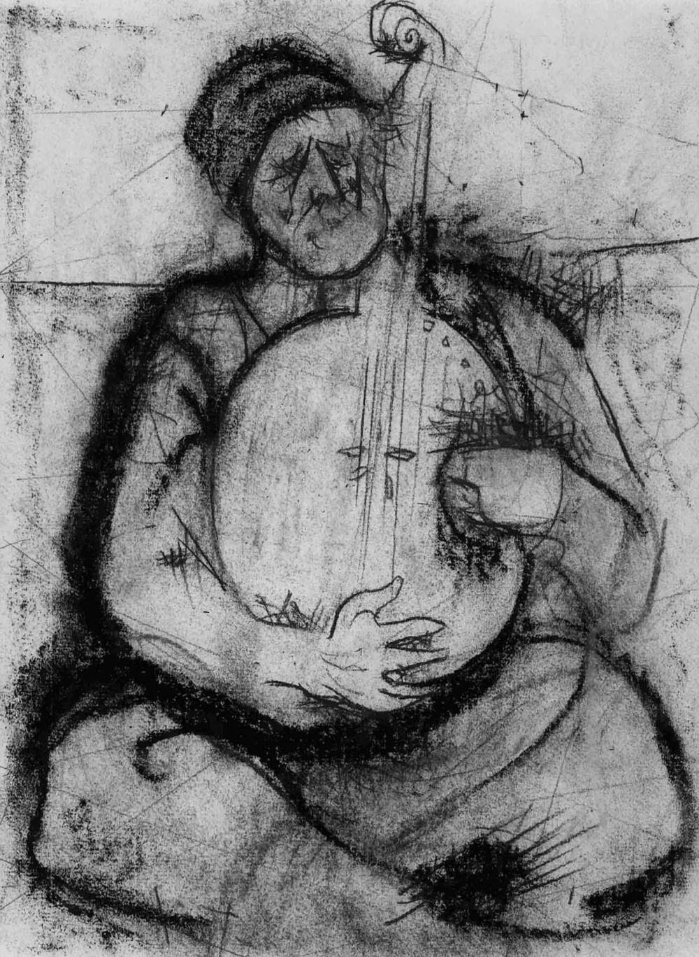 №10 Рисунок «Музыкант»