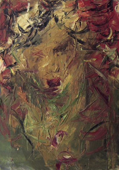 Картина «Портрет Александра» 1978 год