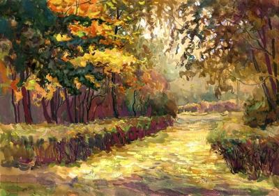 Рисунок «Осенний пейзаж»