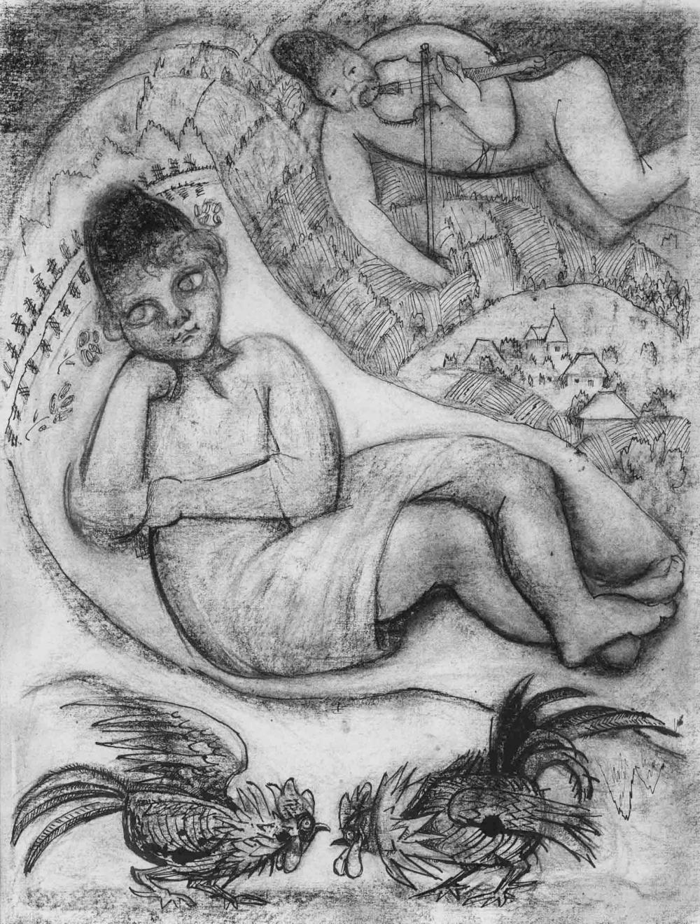 Рисунок «Мечты»
