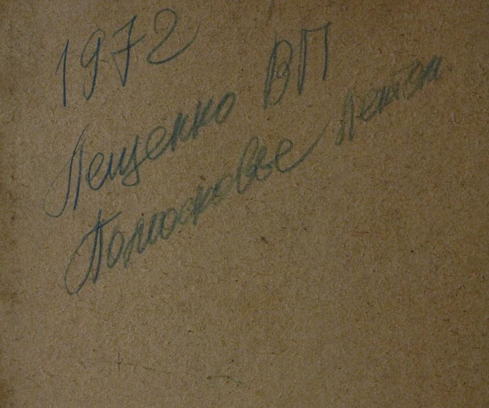 Картина «Подмосковье летом» 1972 год