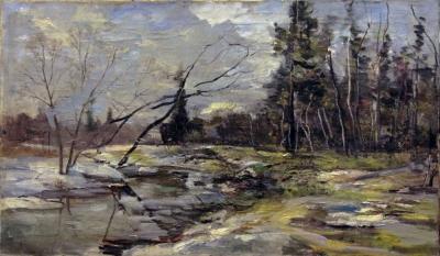 №13 Картина «Весна» 1987 год