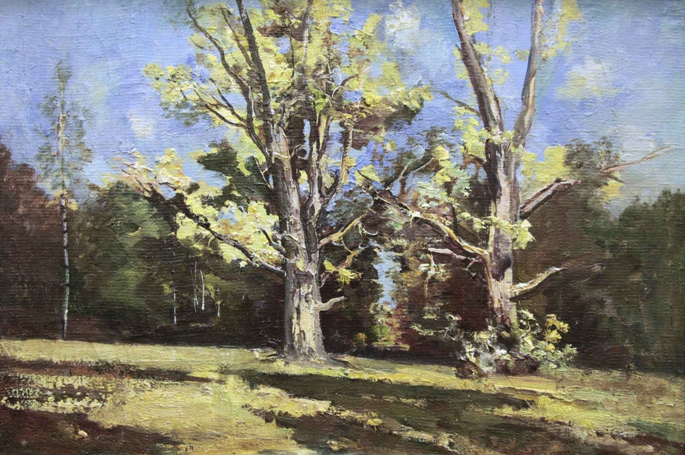 №14 Картина «Летний пейзаж»