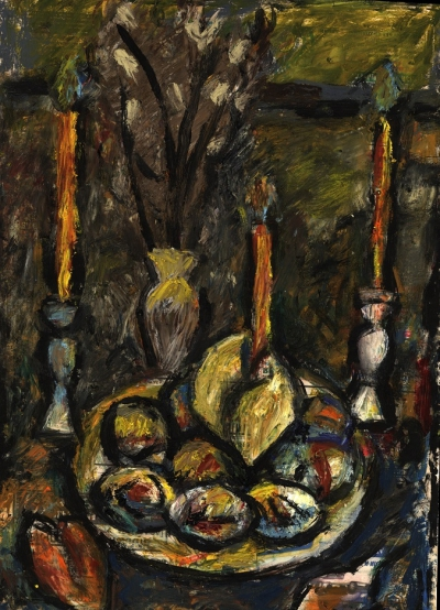 Картина «Натюрморт со свечами»