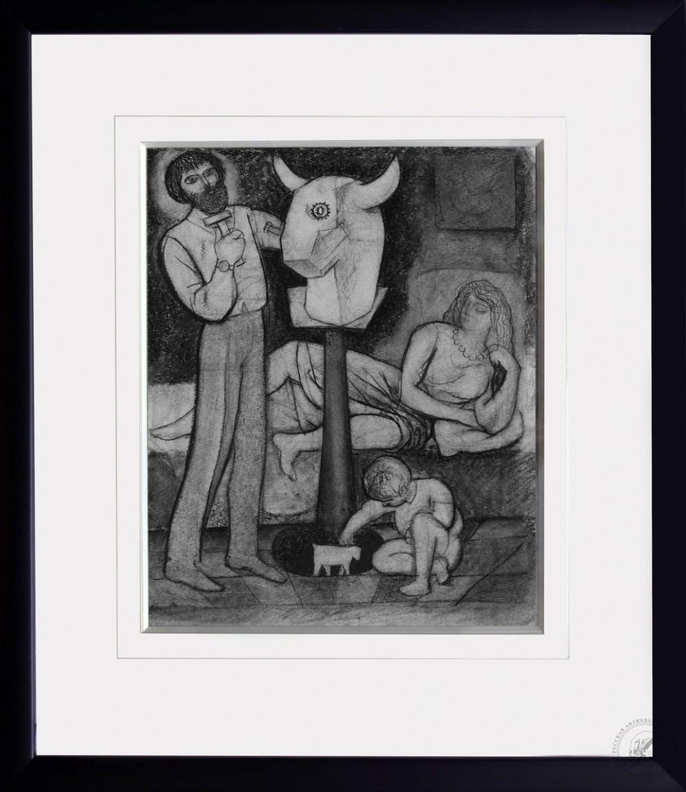 Рисунок «Скульптор»