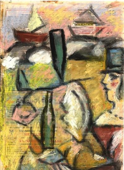 Картина «Жонглёр»