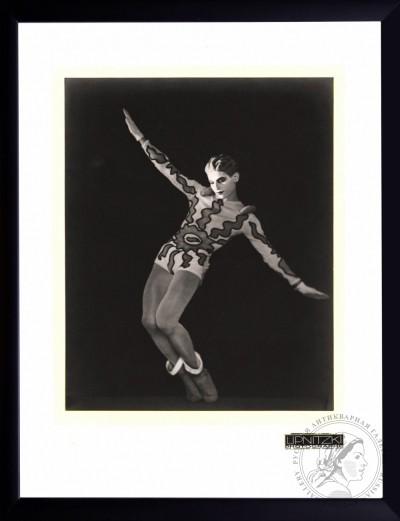 №3 Винтажная фотография «Танцовщик Серж Лифарь» 1931 год