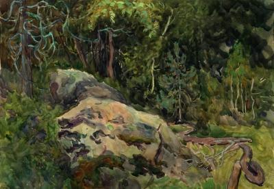Рисунок «Лес»