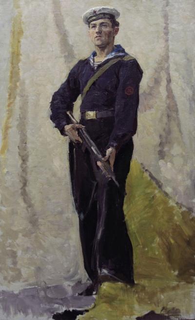 Картина «Сержант военно-морского флота СССР»