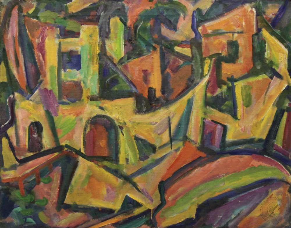 Картина «Гурзуф. Лодки»