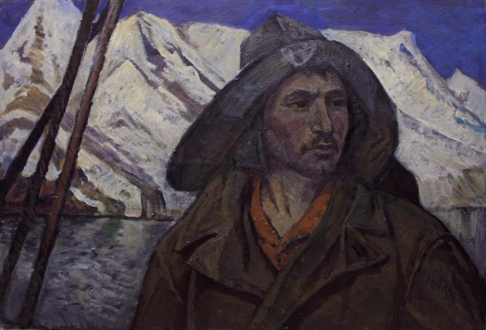 Картина «Рыбак с Курил»