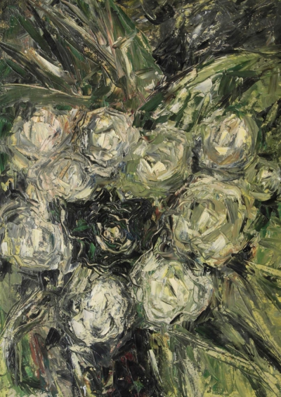 Натюрморт Чёрная роза