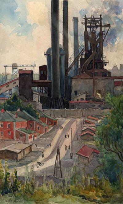 Рисунок «Металлургический Завод»