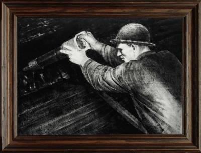 Рисунок «Шахтёр»