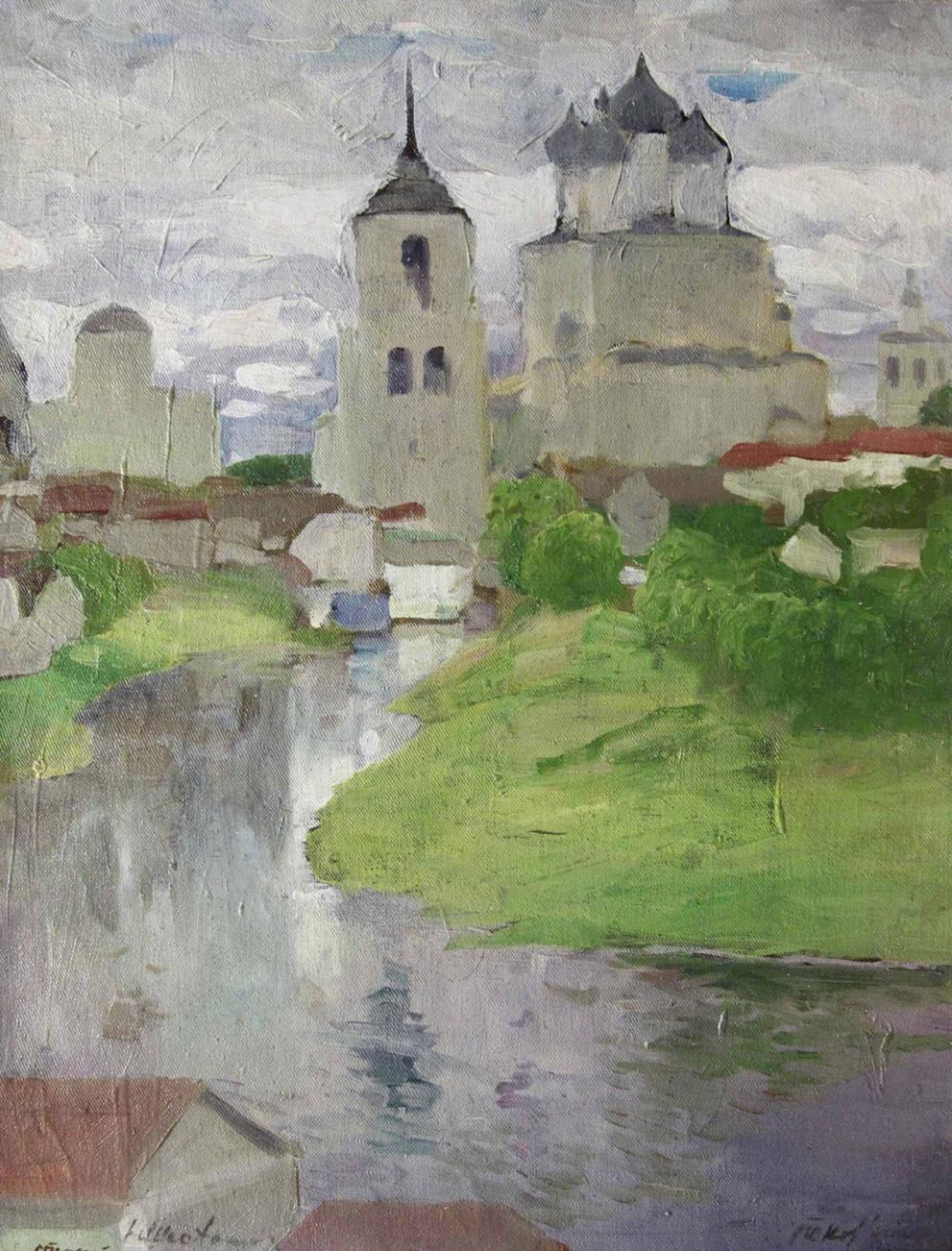 Картина «Старый Псков»