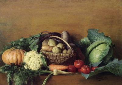 Картина Натюрморт с овощами художника Горохова