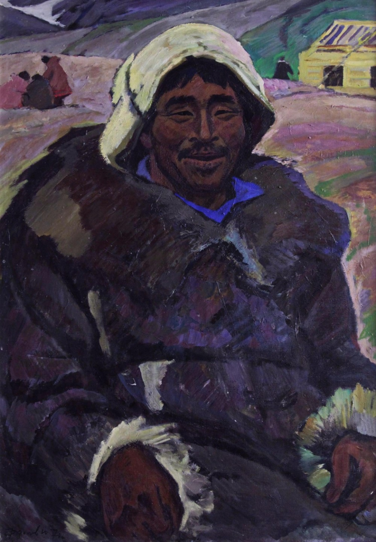 Картина «Бригадир плотников Тырко»