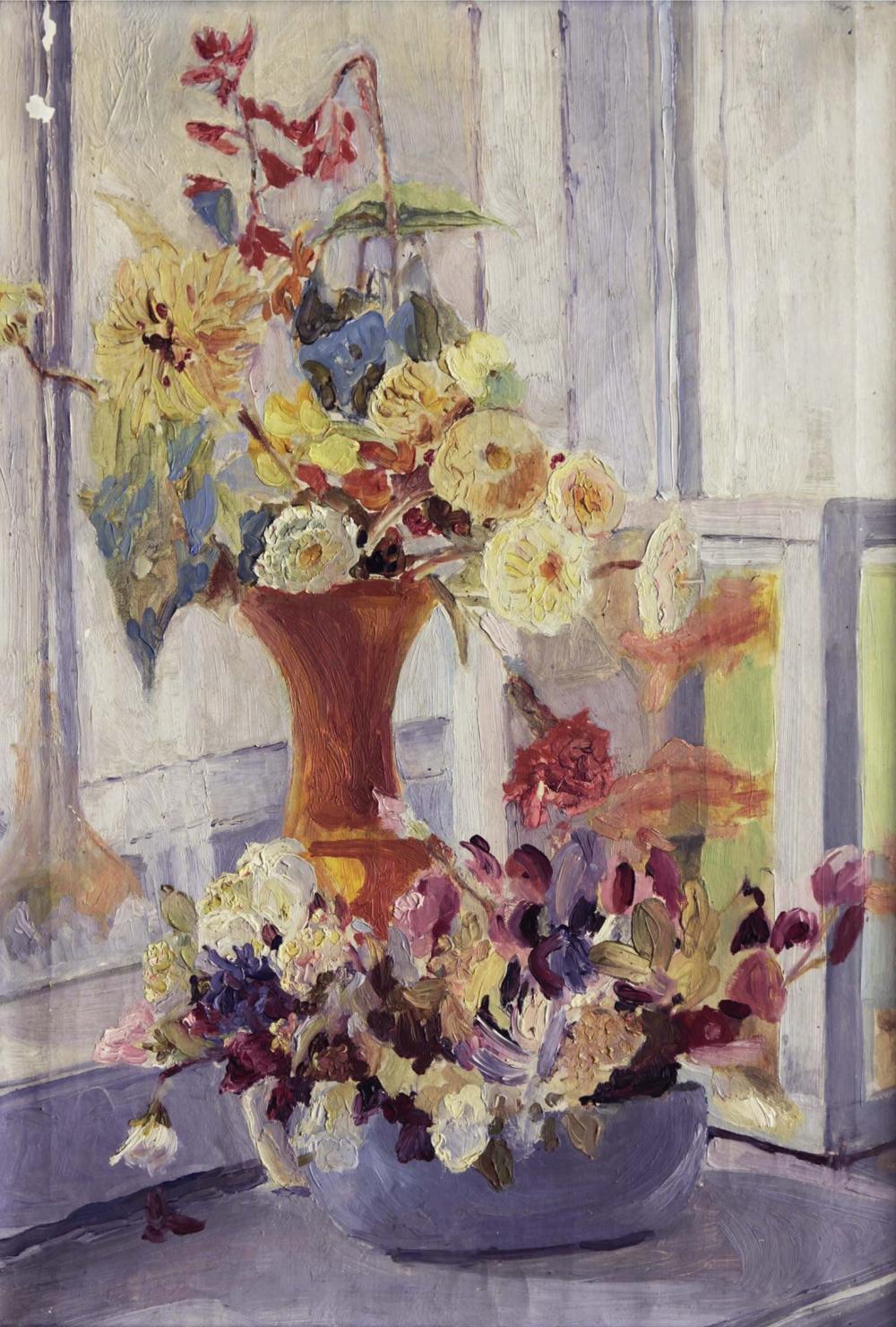 Натюрморт «Цветы на окне»