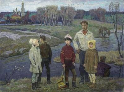 Картина «Подростки»