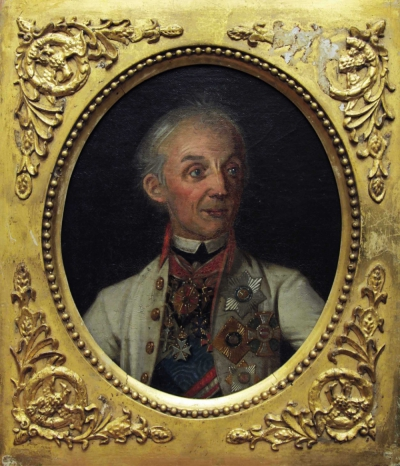 Портрет Суворова Александра Васильевича