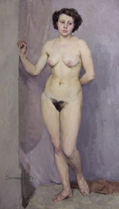 Картина «Обнажённая модель»