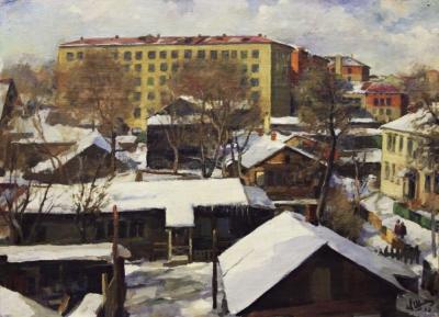 Картина «Москва. Масловка»
