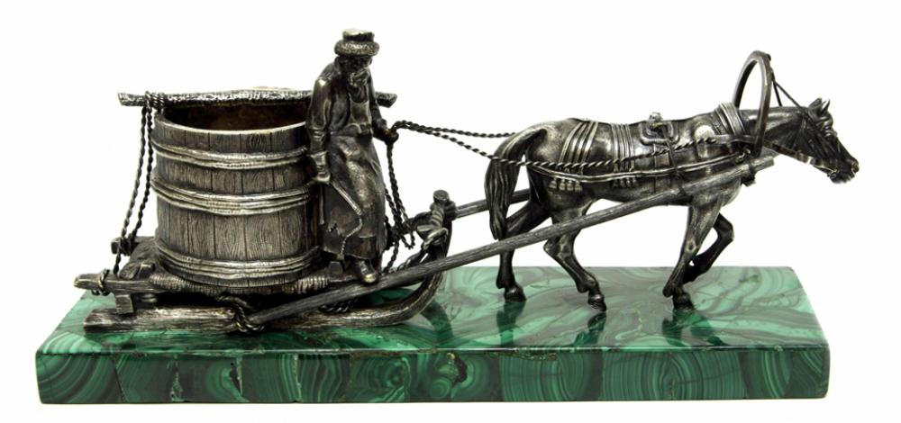 Оценить старинную статую скульптуру