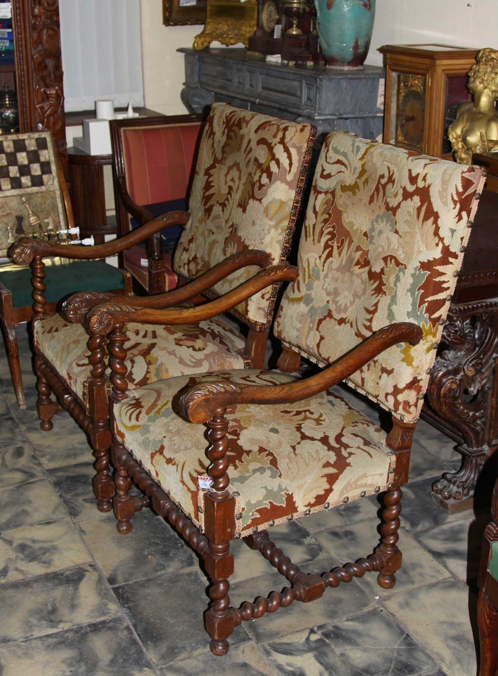 Кресла в стиле Барокко (пара)