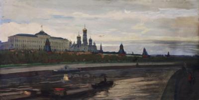 Картина «Вид на кремлёвскую набережную»