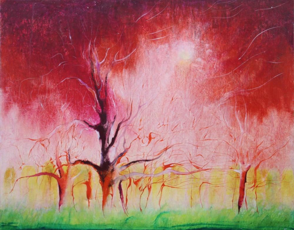 Картина «Красная осень»