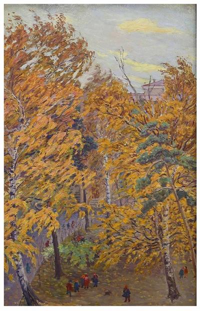 Картина «Осень на Воробьевых горах»
